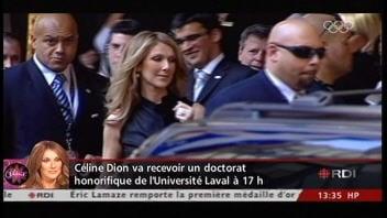 Céline Dion à Québec