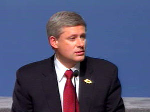 Stephen Harper à la clôture du Sommet de la Francophonie