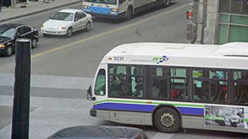 Transport en commun dans la capitale nationale