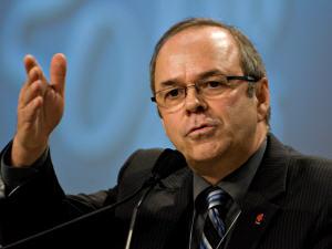 Le président de la FTQ Michel Arsenault