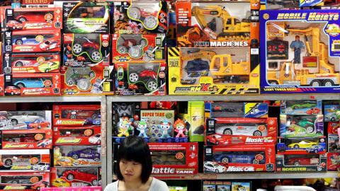 Rappel de jouets chinois