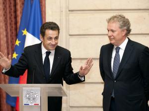 Nicolas Sarkozy et Jean Charest