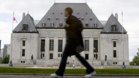 Cour surpême du Canada.