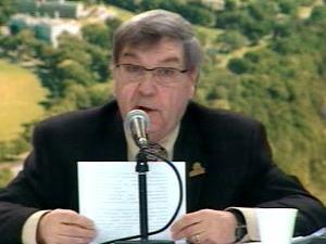 André Juneau, président de la Commission des champs de bataille nationaux