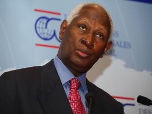 Abdou Diouf, secrétaire général de la Francophonie