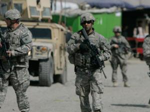 Soldats américains à Kaboul en Afghanistan