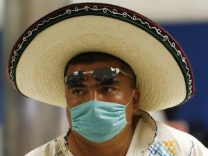 Un passager provenant du Mexique à son arrivée à l'aéroport de Miami.