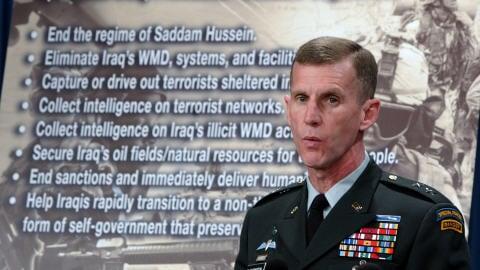Le général Stanley McChrystal, nouveau commandant des forces américaines en Afghanistan.