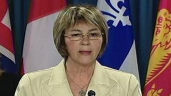 La bloquiste Christiane Gagnon