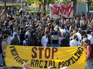 Archives: Manifestation contre le profilage racial et la brutalité policière en octobre 2008
