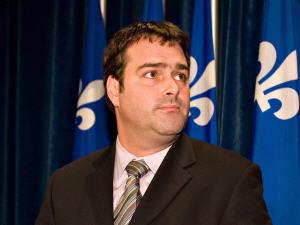 David Whissell, député d'Argenteuil