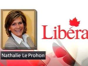 Nathalie Le Prohon, candidate libérale