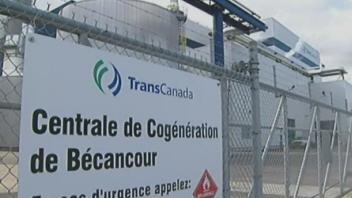 La centrale thermique de Bécancour