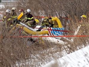 Accident d'élicoptère de TVA
