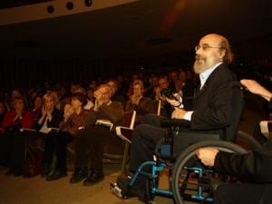 Jacques Hétu lors de la remise de son prix Opus Hommage par le Conseil québécois de la musique, le 31 janvier 2110