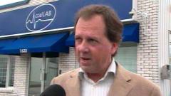 Le Dr Guy Leclerc, président d'AccelLAB