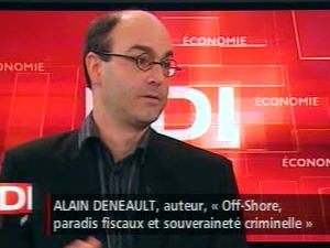 L'auteur Alain Deneault a écrit «Off-Shore, paradis fiscaux et souveraineté criminelle»