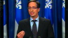 Stéphane Bédard, leader parlementaire du PQ