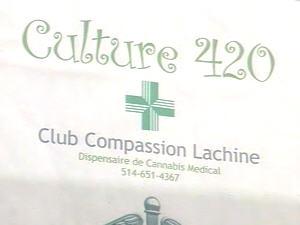 Club Culture 420, dans l'arrondissement montréalais de Lachine