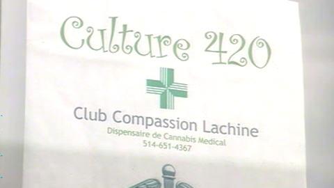 Les pratiques d'un club qui fournit de la marijuana à des fins thérapeutique à Montréal soulèvent beaucoup de questions