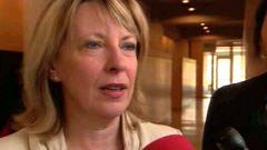 Christine St-Pierre, ministre de la Condition féminine