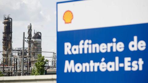 Raffinerie Shell de Montréal-Est