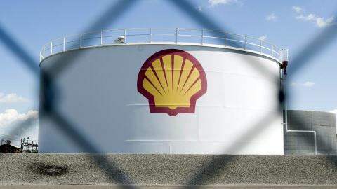 La raffinerie Shell, le 4 juin 2010