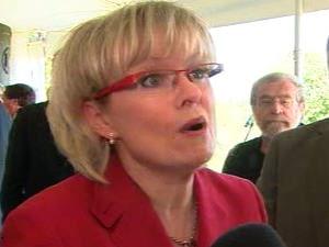 La ministre des Transports du Québec, Julie Boulet