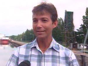 Jack Meloche, gestionnaire des opérations pour la voie maritime du St-Laurent