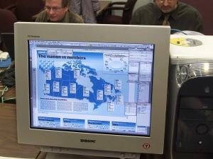 Les résultats du recensement 2002 sont dévoilés aux journalistes à Ottawa.