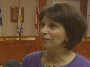 Louisette Langlois, mairesse de Chandler