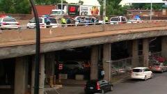 Intervention policière sur l'Autoroute métropolitaine