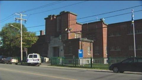 La prison de l'arrondissement de Chicoutimi
