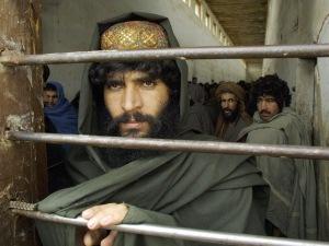 Un prisonnier de guerre afghan dans une geôle du nord de l'Afghanistan.