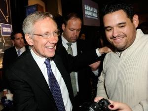 Harry Reid demeure sénateur du Nevada. Il sera à nouveau l'homme fort du Parti démocrate au Sénat.
