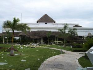 Explosion à Playa del Carmen