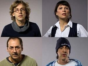 Quelques-uns des artistes impliqués dans la vidéo
