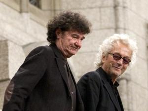 Robert Charlebois et Luc Plamondon à la Chambre des communes, le 30 novembre 2010
