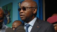 Le président sortant de la Côte d'Ivoire Laurent Gbagbo.