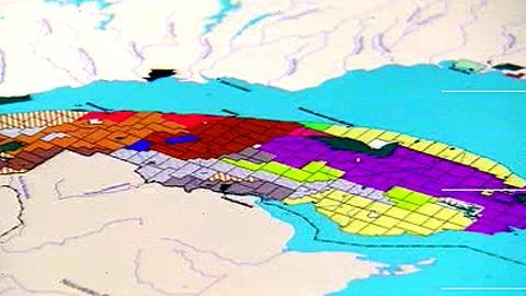 Carte de la Gaspésie