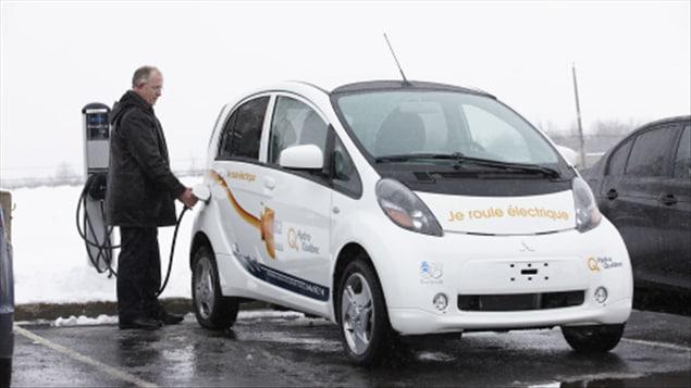 La voiture électrique i-MiEV de Mitsubishi