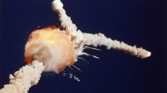 L'explosion de la navette Challenger, le 28 janvier 1986