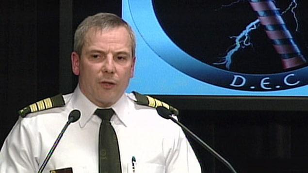 Denis Morin, inspecteur du Service des enquêtes de la Sûreté du Québec.