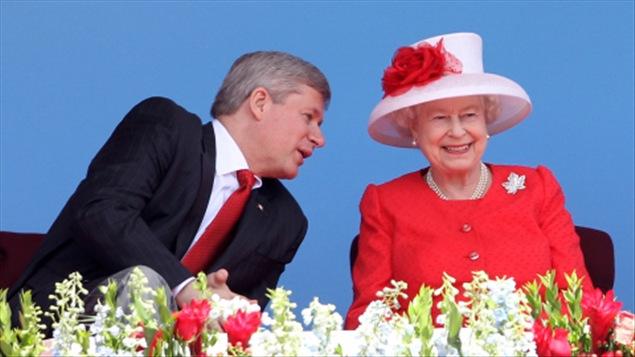 Stephen Harper et Elizabeth II
