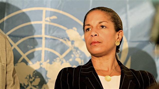 L'ambassadrice des États-Unis à l'ONU, Susan Rice, en octobre 2010