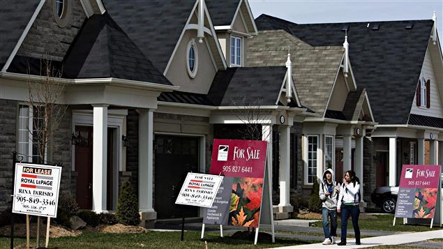Augmentation de 13 du prix moyen des maisons au canada for Photo de maison au canada
