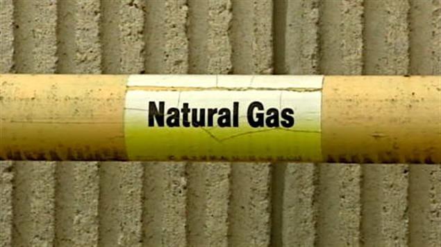 Conduite de gaz naturel