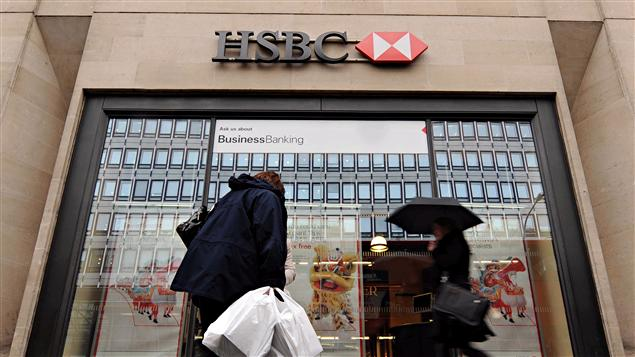 Un bâtiment de la HSBC à Londres