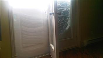 Plus de 70 cm de neige sont tombés en moins de 24 heures à Sherbrooke.
