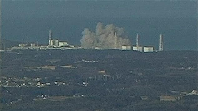 Explosion dans la centrale nucléaire de Daiichi